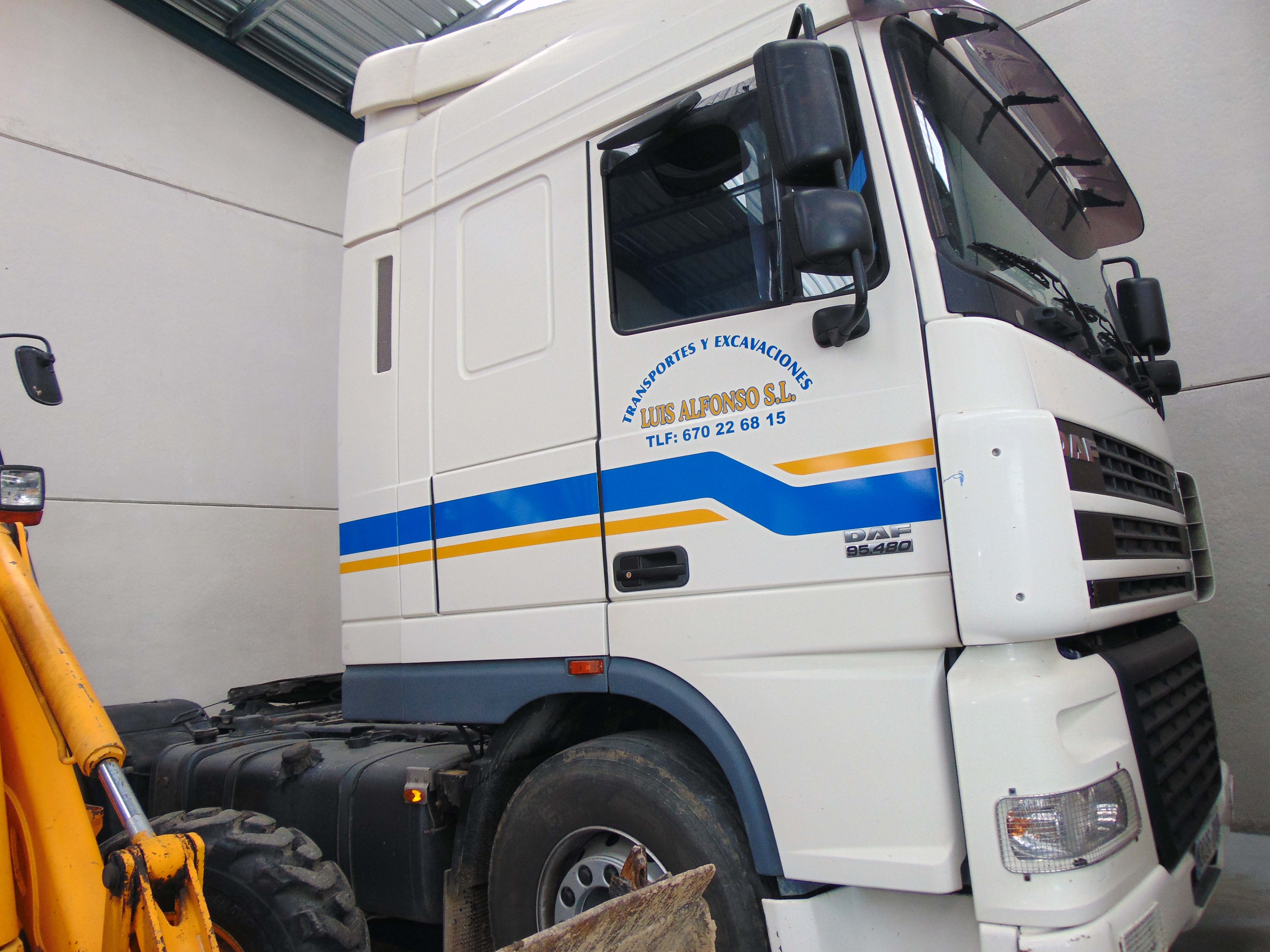 camiones para transporte