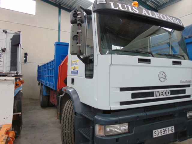 camión grúa para todo tipo de transporte