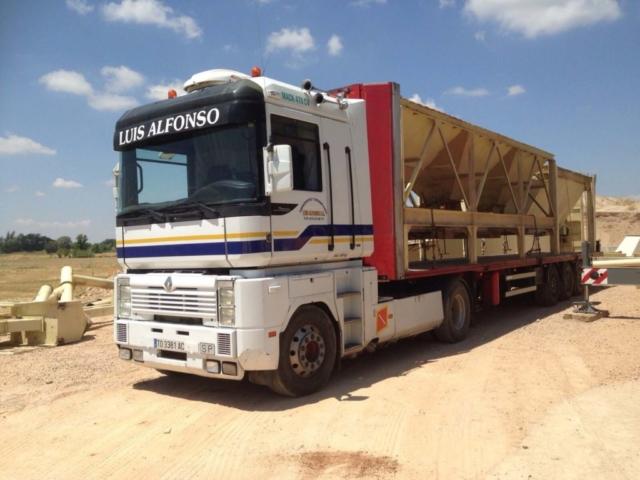 camión dos ejes para transporte